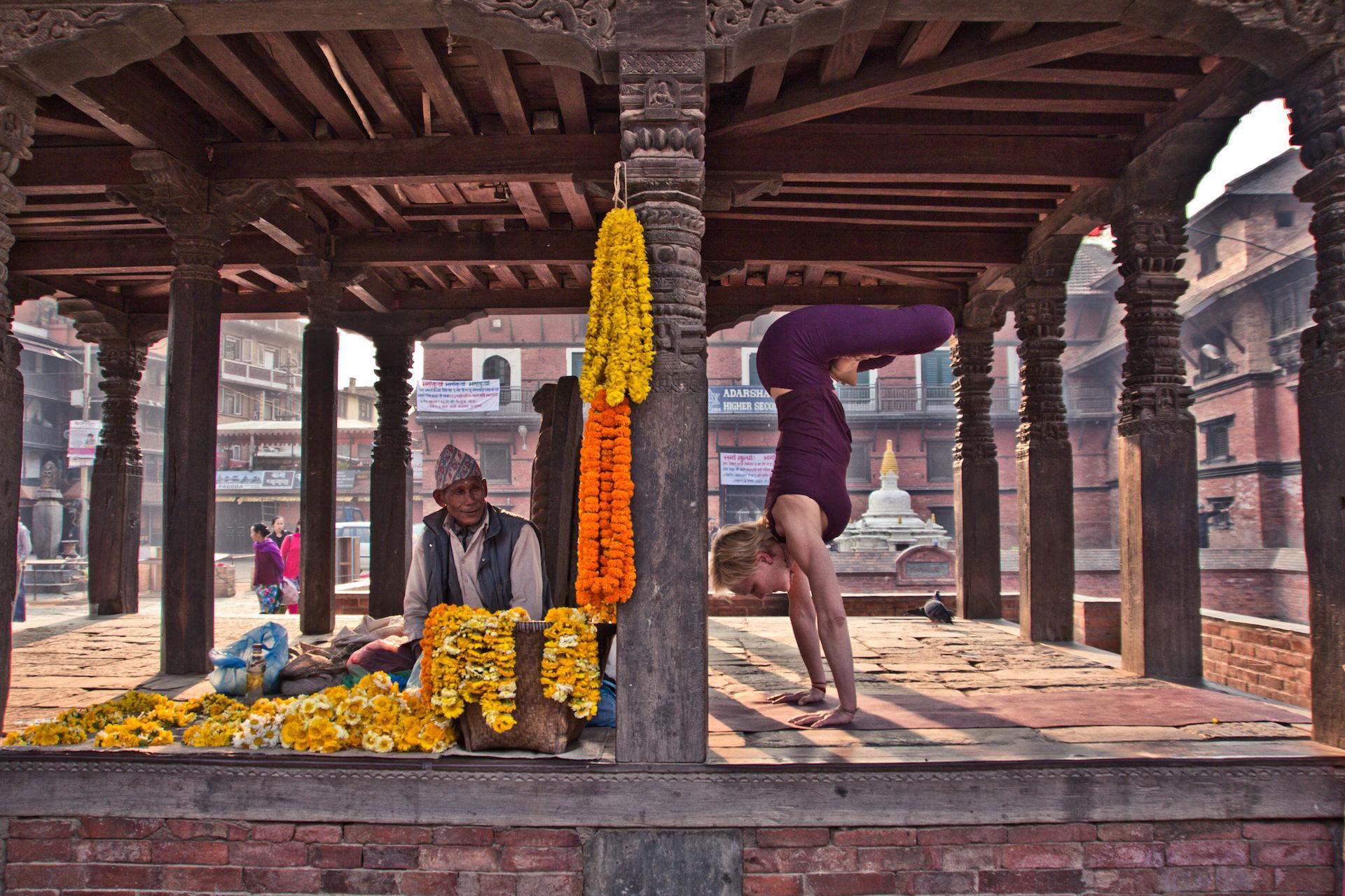 Ellen Johannesen Ashtanga Yoga Kathmandu Nepal
